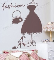 Wall sticker, window sticker, Fashion sticker, home shop decoration,free shipping