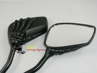 Motorcycle Skull Claw 10mm 8mm Mirrors