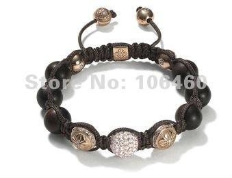 free shipping, Shamballa jewelry Wholesale,Shamballa Bracelet / cyrstal braclet Micro Pave CZ Disco Ball Bead C-P-X21