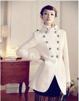 HOT SALE--  Spring  Women coat fashion overcoat/ Napoleon military uniform double breast winter coat /jacket outerwear/ Jacket