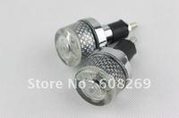 freeshipping! Wholesale  Motorcycle accessories motorcycle handlebar plug / light blue / handrail lamp