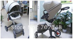 Brand for Stokke stroller High adjustable Factory supplier with 2 years warranty 3 colors IN STOCK!!!(China (Mainland))