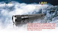 Fenix LD25 Premium R4 Cree XP-G LED AA Flashlight Torch IPX-8 waterproof LED flashlight