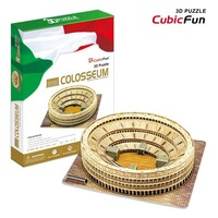 Free shipping, Colosseum DIY 3D three-dimensional puzzle, 3d puzzle,world's great architecture, wholesale price