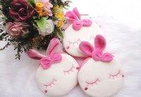 6PCS Metoo Rabbit Plush Hand Bags Wallet  Pouch Handbag ; Pendant Chain Coin Purse Bag Case ; Storage BAG