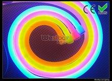 orange led neon flex light tube, AC185-240V,  good light effect, WF-LN-240V-EX,Red, green, pink is available(China (Mainland))