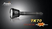 Fenix TK70 XM-L 2200 Lumen 2-Mode D Battery LED Waterproof Search Flashlight