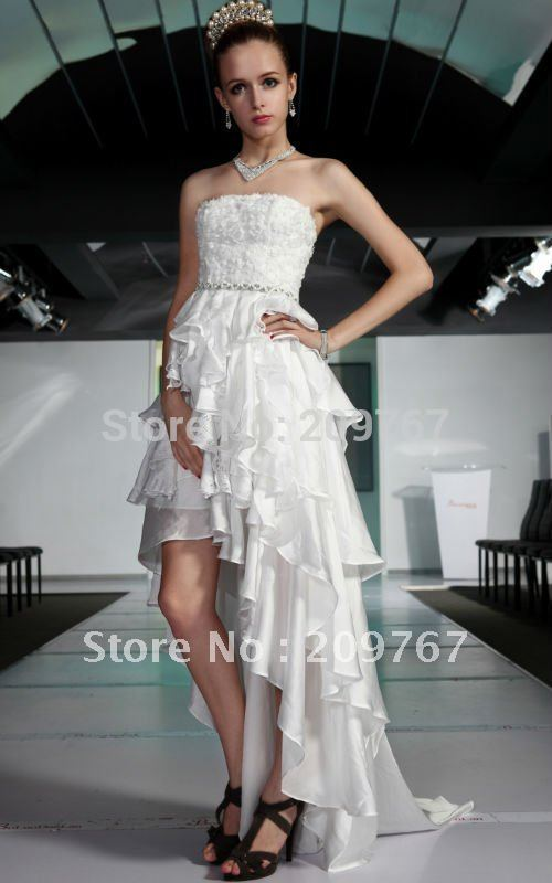 Wedding Gown Beaded Satin