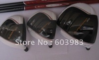 Right Hand Superfast 2.0 golf driver and wood (9.5 or 10.5+3#+5#  3pcs/lot) graphite shaft regular or stiff with headcover