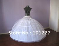 Free Shipping Wedding Dress Crinoline Bridal Petticoat Under Skirt Ball Gown Quinceanera Dress Petticoat PT110