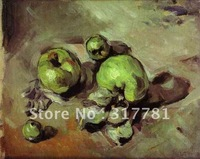 High Quality! 100% hand-painted art canvas oil painting Green Apples ,  1873 , Paul Cezanne