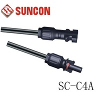 MC4 solar cable connector, TUV certificate, IP67, free shipping