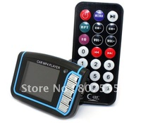 "Whlolesale 30pcs Blue 1.8"" LCD Car MP3 MP4 Player FM Transmitter SD/MMC"