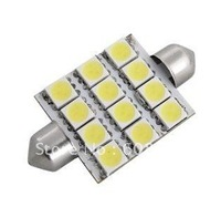 Dome 12 SMD LED Bulb Light Interior Festoon Lamp 42mm