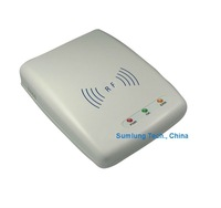 TCP IP Ethernet RFID Reader Writer + SDK + Demo ISO14443A 13.56MHz HF Smart IC card tag label keyfob Programmer RS232