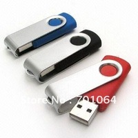 DHL Free shipping: NO.1 quality & real capacity swivel usb flash drive with logo engraved or printing usb flash drive