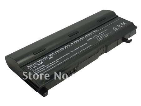 Free shipping Laptop Battery PABAS057 PABAS076 replacement for Toshiba Satellite M45 Satellite M100 Satellite A80 Tecra A6(China (Mainland))