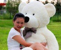 1.6m big size  teddy bear plush  soft toys teddy bear stuffed toys 3 color to choose freeshipping