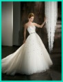 Free shipping sweetheart A-line gown with full beading tulle skirt wedding dress 2012 bridal dress 525