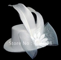 The bride's headdress / Wedding Jewelry / bride hair / show jewelry / pink small hat / TS0302