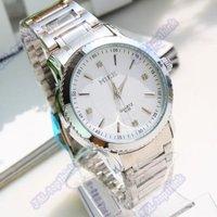 Men Stainless Steel Analog Mens Quartz Analog Watch Wrist watch Gift, Free shipping Hot