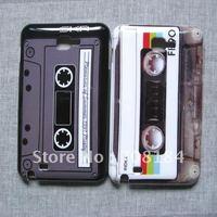 2pcs Cassette Tape Hard Back Case for Samsung Galaxy Note i9220 N7000