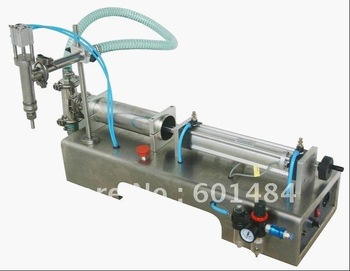 Free Shipping liquid filling machine(0-1000ml)+new arrive +pneumatic+free shipping+stainless steel