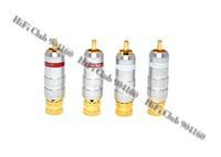 HIFI Club wholesale online HIFI DIY CMC 8016-WU  RCA plugs Audio Banana RCA  Connectors More best discount for wholesale
