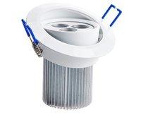 10pcs 9W  3*3w LED Recessed Ceiling Down Light Cabinet Lamp led ceiling spot light