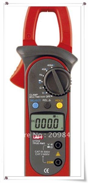 DHL EMS UPS Free shipping UNI-T UT204 retail Digital Clamp Multimeters,digital meter,multimeter digital,UT30185(China (Mainland))