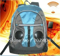 2012 hot sell New fashioned backpack audios blue