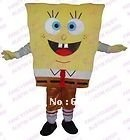Hot sale!  spongebob Cartoon mascot costume  for sale  anime carnival costume Halloween Dress kids party