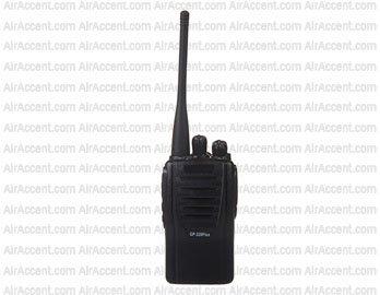 MT GP328PLUS Portable FM Walkie Talkie (Black)