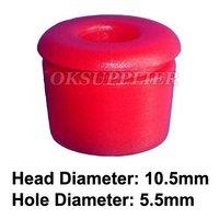 100 Pcs/Lot Moulding Grommet Insert Clip Retainer Fastener Red Nylon Replace Mercedes Benz 000-988-15-81 Red Grommet 0009881581