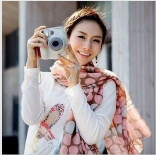 2012 NEW 4 Color Stole GirlsSoft Fashion Cotton Wrap Scarf Shawl Neckerchief Women Long factory sale