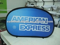 S size Horizontal Pop Up Banner