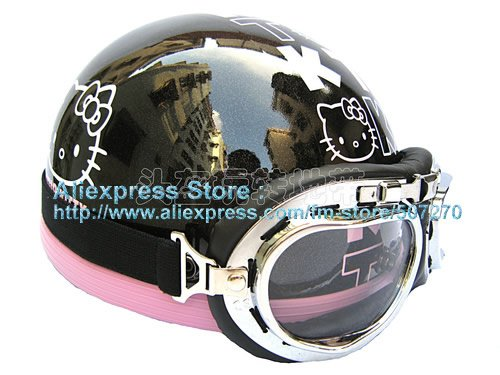 Hello Kitty Motorcycle Helmet For Adults Motorcycle Hello Kitty
