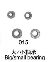 134CM QS 8006 RC helicopter spare part 8006-15 8006-015 big / small bearing For QS8006 helicopter + low shipping fee