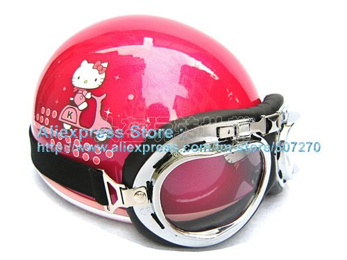 Hello Kitty Ski Helmet Hello Kitty Red Helmet