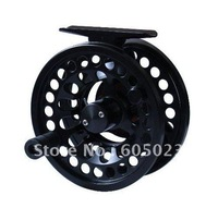 Wholesale top grade New plastic Die Casting CNC fishing reel 24pcs/lot  3/5#,7/9# the best Die-casting fly reel in China