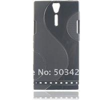 Чехол для для мобильных телефонов Xperia Go Flip Leather Case, Genuine Wallet Card Leather Case For Sony Xperia Go st27i