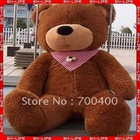 "HOT Sale! Free Shipping! 160cm Giant Sleepy teddy bear 63"" huge big plush sleeping bear, birthday gift"