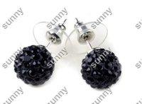 Браслет из бисера 1X Rhinestones Honesty Crystal Beads Sideways Cross Shamballa Bracelets Charm bracelets