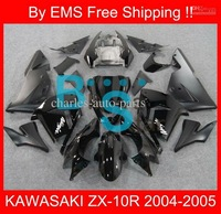 1766 Free Shipp fairing kit for KAWASAKI ZX-10R 04 05 ZX10R 2004-2005 ZX 10R 04-05 2004 2005 Black