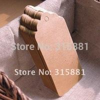 Wholesale Cardboard Blank price Hang tag Retro Gift Hang tag 500pcs/lot Free Shipping