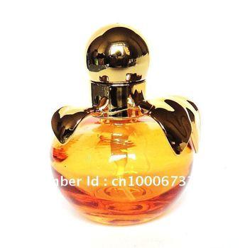 Retail Glass apple design spray perfume atomizer perfume bottles wholesale perfume bottles cheap bottle atomizer