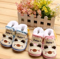 Love child cyworld lovely animal model warm baby baby shoes PJ208 padded boots shoes winter