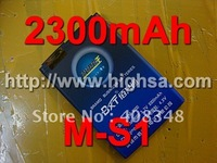 2300mAh M-S1 / M S1 High Capacity Battery Use for Blackberry 9000/9700/9780 etc Mobile Phones