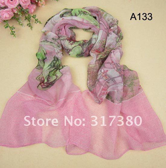 long scarves spring summer 2012 wholesale women silk feeling  Best  Best Scarves For Women 2012