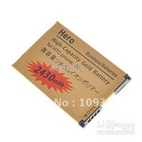 Wholesale - HOT!!! GOLD 2430MAH HIGH CAPACITY REPLACEMENT BATTERY FOR HTC G3  5PCS/lot
